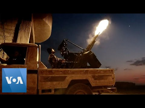 Syrian Rebels Fire