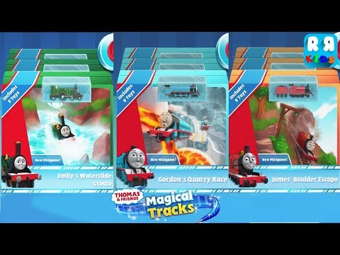 Thomas and Friends: Magical Tracks - Collect All Emily, Gordon and James Pack