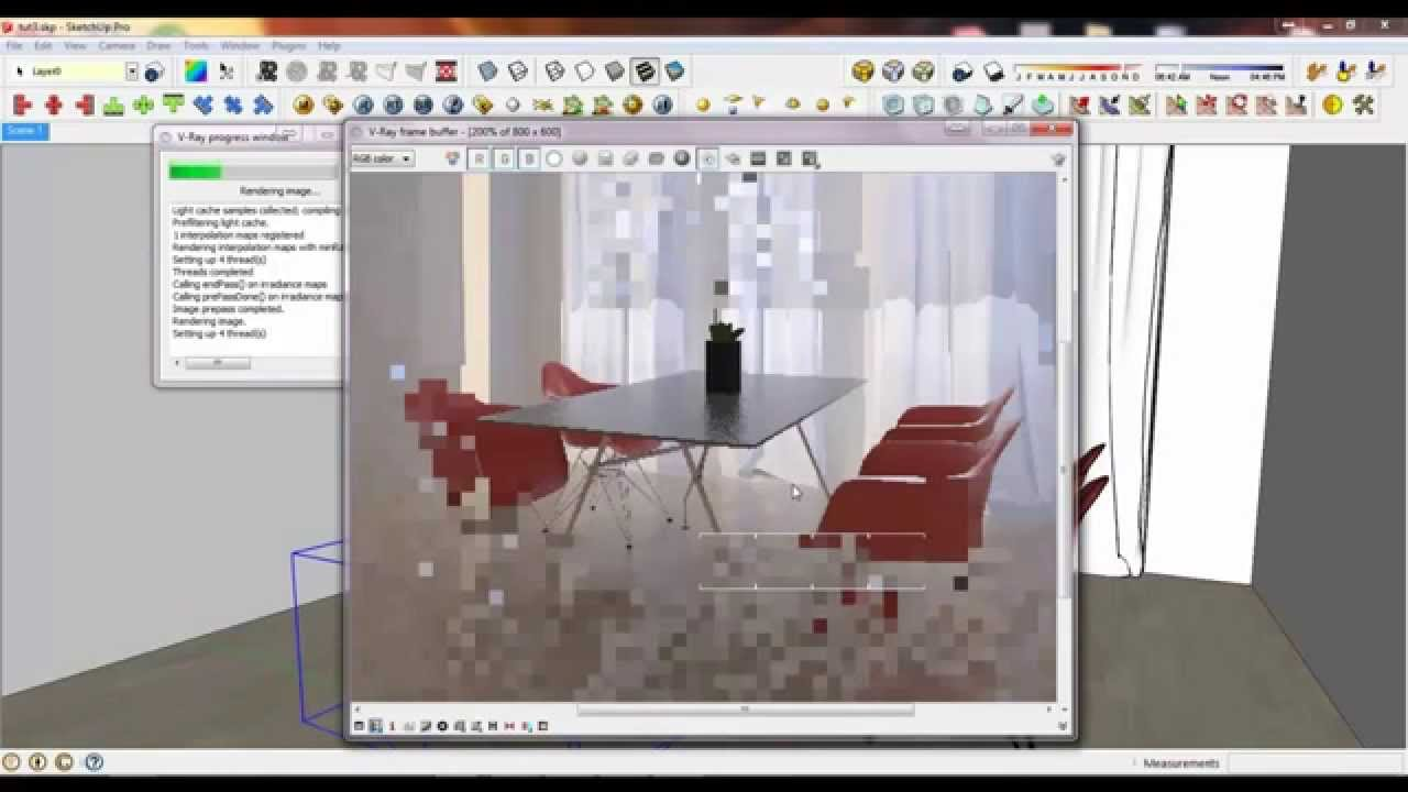 Rendering An Interior Scene In V Ray For Sketchup Tutorial Vol3 Ph Youtube