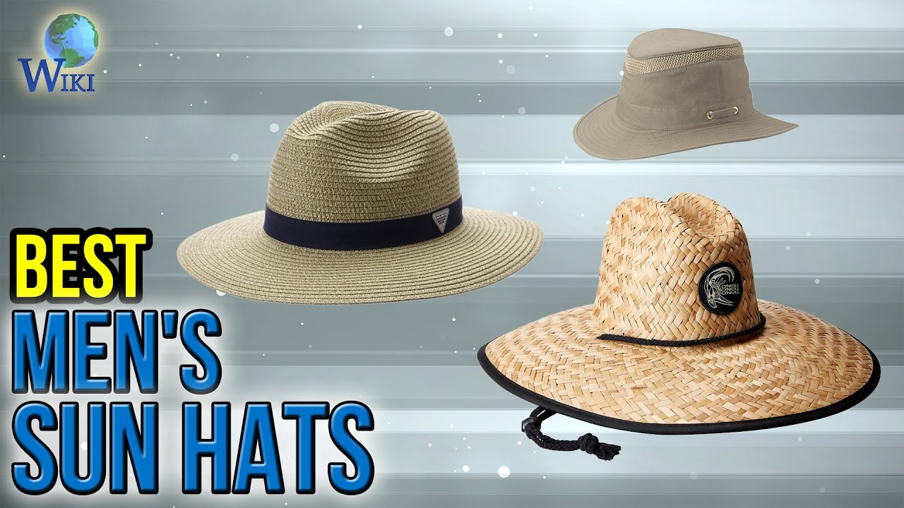 10 Best Men s Sun Hats 2017 - YouTube d07095dbb0d9
