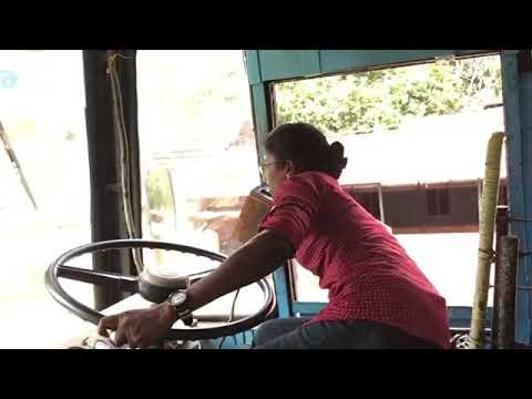 Very Smart Girl bus driver india