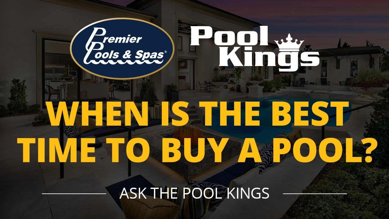 The experience is even better when that pool is in your own backyard for your entire family to enjoy every day — provided those waters always stay. When Is The Best Time To Buy A Pool Ask The Pool Kings Episode 2 Youtube