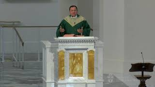 Homily - Father Marcos Leon at the Mass for Preservation of Peace and Justice