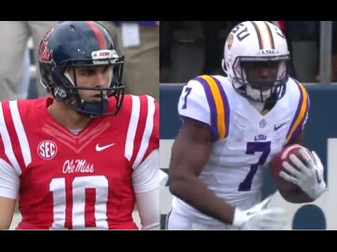 LSU vs Ole Miss 2015 Week 12 NCAA Football 11.21.2015
