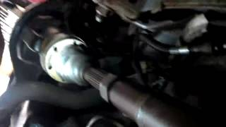 1998 JEEP GRAND CHEROKEE 4X4 FRONT DRIVE SHAFT REMOVAL