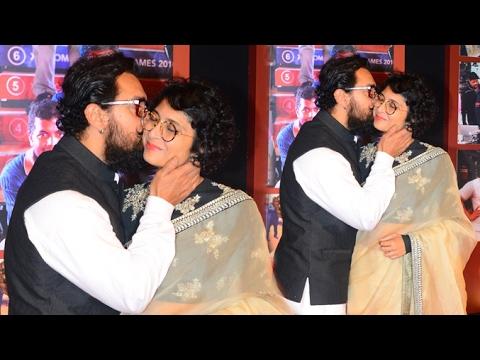 Image result for aamir kiran rao kiss