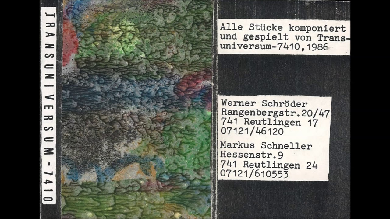 Top Stragula & Werner Schröder - Saturn (1986) - YouTube XF75