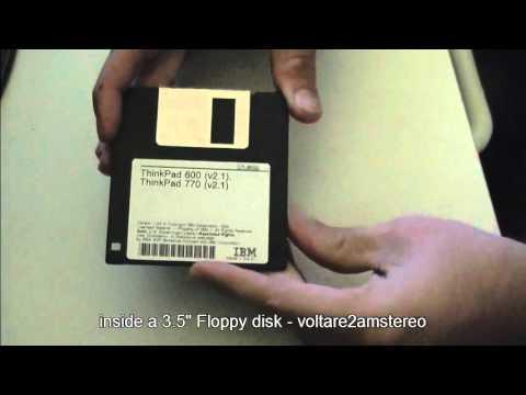 inside a 3 5 floppy disk youtube. Black Bedroom Furniture Sets. Home Design Ideas