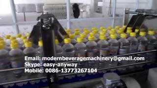 2015 new automatic mineral water production line bottled water filling machine water filling line