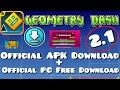 GEOMETRY DASH 2.1 APK DOWNLOAD