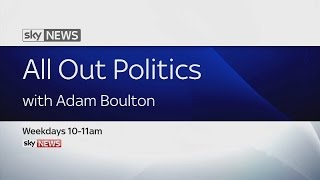 All Out Politics With Adam Boulton