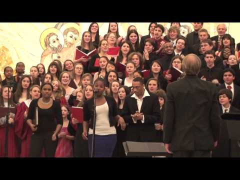 Praise His Holy Name (SHU Gospel Fest Combined Choirs)