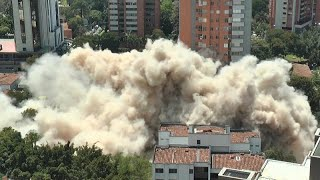 Luxury home of Pablo Escobar is blasted into dust