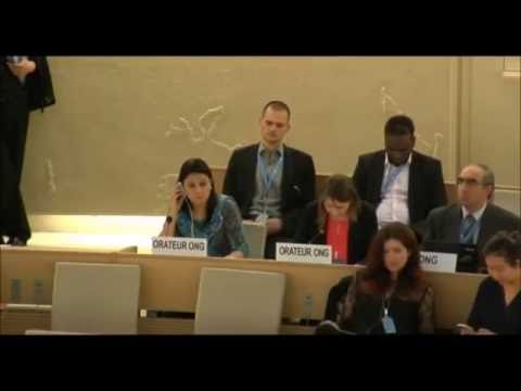 32nd session of the Human Rights Council   Item 3   Ms.  Julie Gorzkowski   English