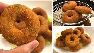 Aloo Donuts Recipe I Potato Donuts I Potato Doughnuts Recipe
