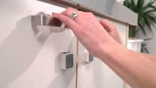 Lindam - XtraGuard™ Dual Locking Multi Purpose Latch