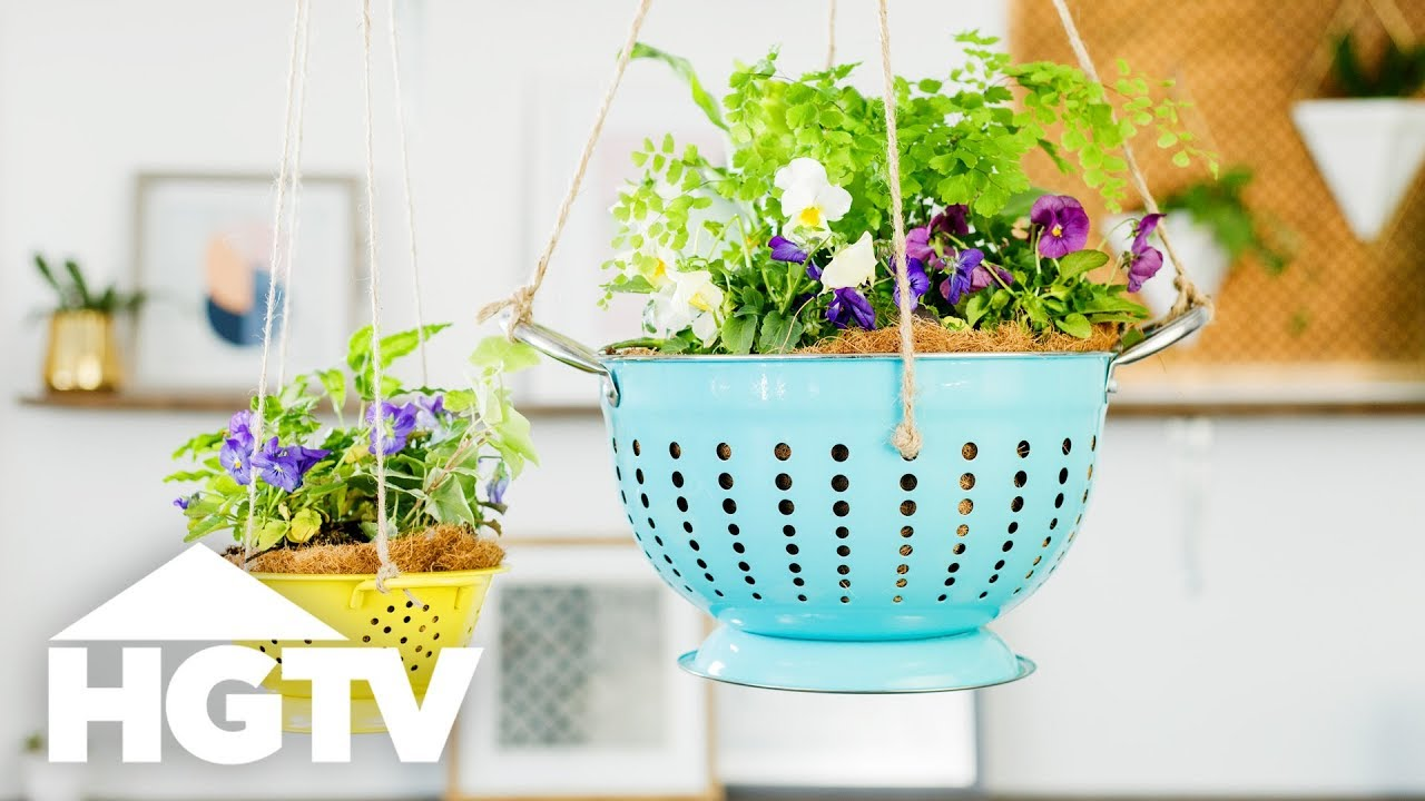 6 Unexpected Planters You Haven\'t Tried - HGTV Happy - YouTube