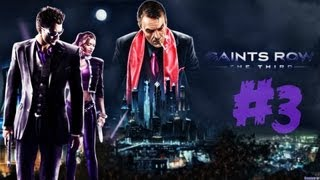 Saints Row 3 #3 - Co-op with Gideon (ХОТ-ДОГ И НУДИСТКА)