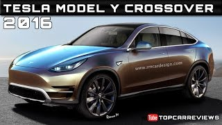 2016 Tesla Model Y Crossover Review Rendered Price Specs Release Date
