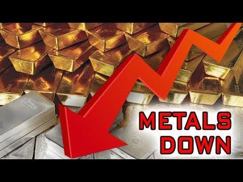 Precious Metals Depressed On Economic News