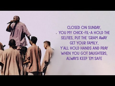 Kanye West - Closed On Sunday (Lyrics)