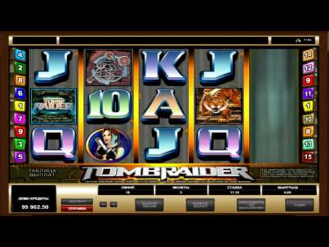 Игровой автомат   Том Рейдер (tomb Raider) - обзор характеристик от  Igrovye-avtomati.net