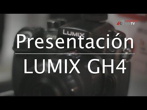Presentación Panasonic Lumix GH4