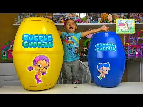 Bubble Guppies Surprise Eggs & World's Biggest Surprise Egg of Nickelodeon Cartoon Toy Surprises Kid