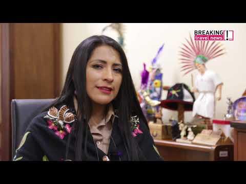Breaking Travel News interview: Wilma Alanoca Mamani, minister of tourism, Bolivia (Spanish)