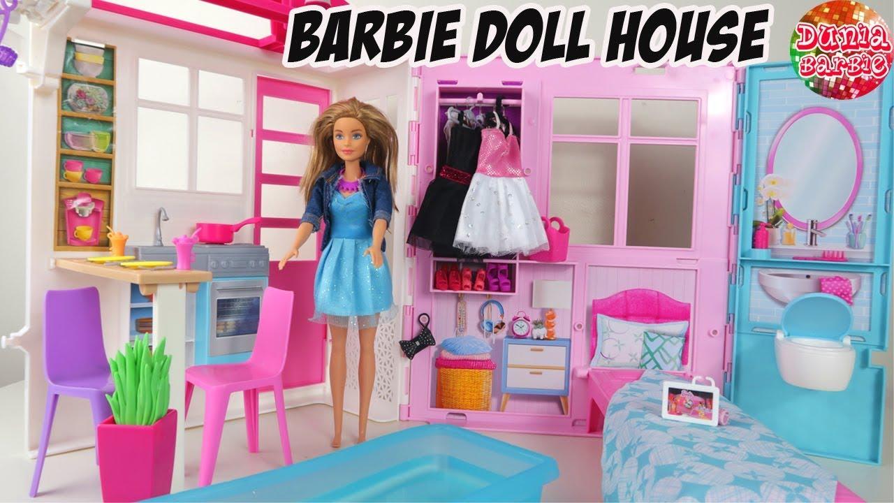 Barbie Masak Masakan Kue Pizza Dari Roti Tawar Mainan Anak Perempuan Bahasa Indonesia Youtube