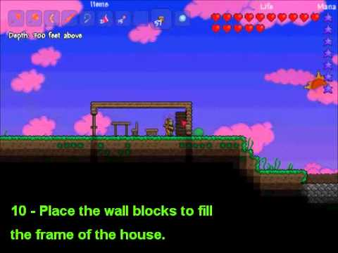 House Design Ideas >> Terraria - Basic NPC House Building - YouTube