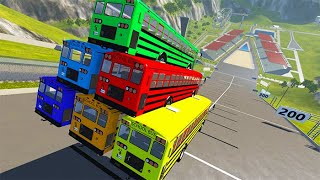 TOP 10 Extremely Satisfying Beamng Drive Car Crashes #2   BeamNG-Destruction
