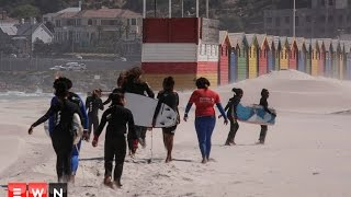 Waves for Change uses surfing to provide therapy to communities with high levels of violence and poverty. The NGO received international recognition by winning the Sport for Good category at the 2017 Laureus Awards.   Click here to subscribe to Eyewitness news: http://bit.ly/EWNSubscribe  Like and follow us on: http://bit.ly/EWNFacebook AND https://twitter.com/ewnupdates  Keep up to date with all your local and international news: www.ewn.co.za    Produced by: Cindy Archillies