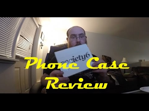 Society 6 phone case review