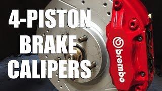 How to Install 4-Piston Brąke Calipers