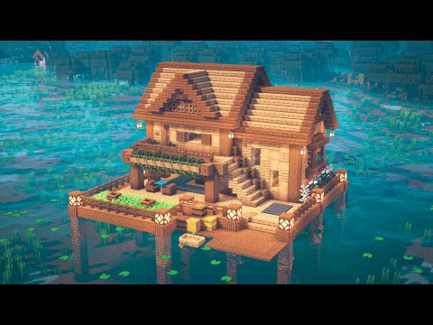 Minecraft | How to Build a Lake House