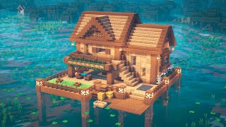Minecraft How To Build A Lake House
