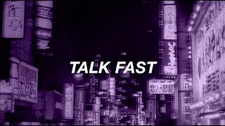 TALK FAST 5SOS // LYRICS