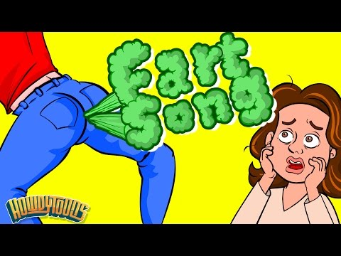Everybody Farts  The Farting Song  Funny Songs for Kids  Howdytoons