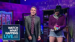 """Andy cohen and sarah silverman compete to see whose crotch is the deadliest. ►► subscribe wwhl: http://bravo.ly/wwhlsub""""watch what happens"""" as bravo ..."""