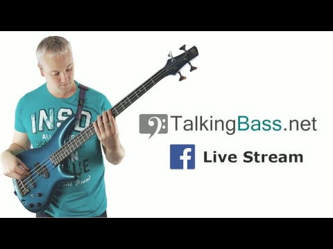 Talkingbass Live Stream - Harmonics and 7/8