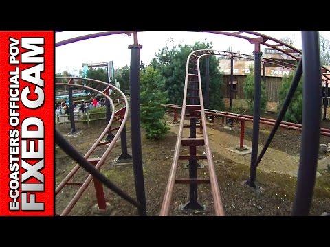 Mine Train Slagharen - Roller Coaster POV On Ride Junior Coaster Vekoma (Theme Park Netherlands)