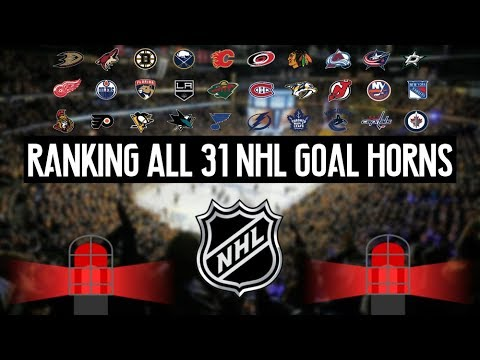 Ranking All 31 NHL Goal Horns (2017-2018 Edition)
