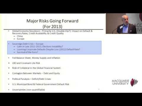 Financial Risk Day 2013 - Edward Altman