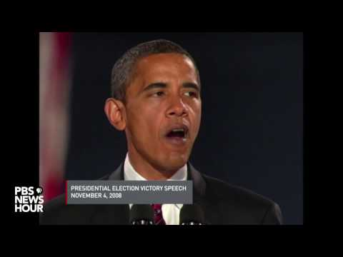 Watch moments from Barack Obama's key speeches