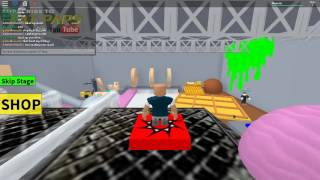 Roblox| The first time saying idiot and cra# on camera| Escape The Diner Obby