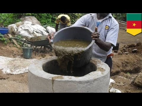 Biogas: Human waste turned into clean power in Cameroon innovative clean energy project - TomoNews