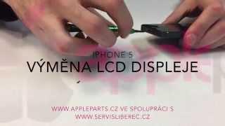 iPhone 5 - Výměna displeje