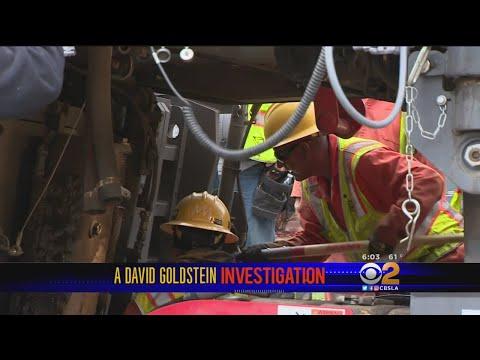 Goldstein Investigation: $1.3M Paving Machine Homeless Man Was Using For Shelter Back On The Road Af