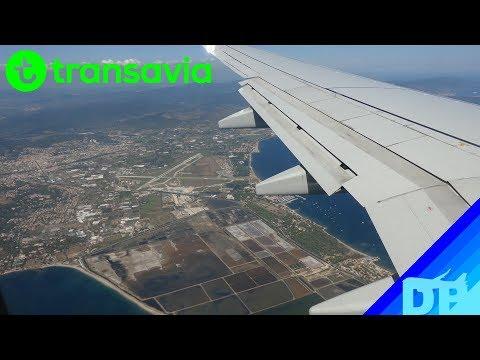 Transavia Boeing 737-700 Landing Toulon (TLN)